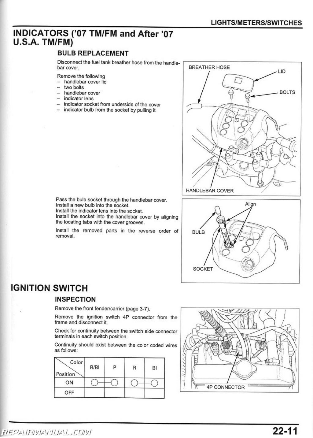 Parts Diagram 2003 Honda Rancher 350 Frame Wiring For 03