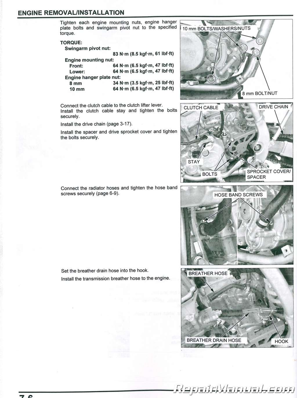 Honda Crf150r Rb Expert Motorcycle Service Manual