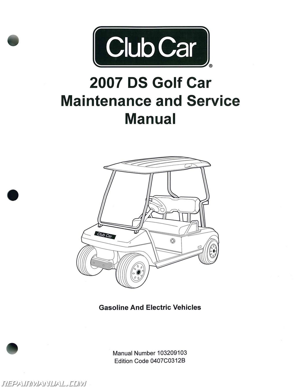 Club Car Wiring Diagram Gas Engine