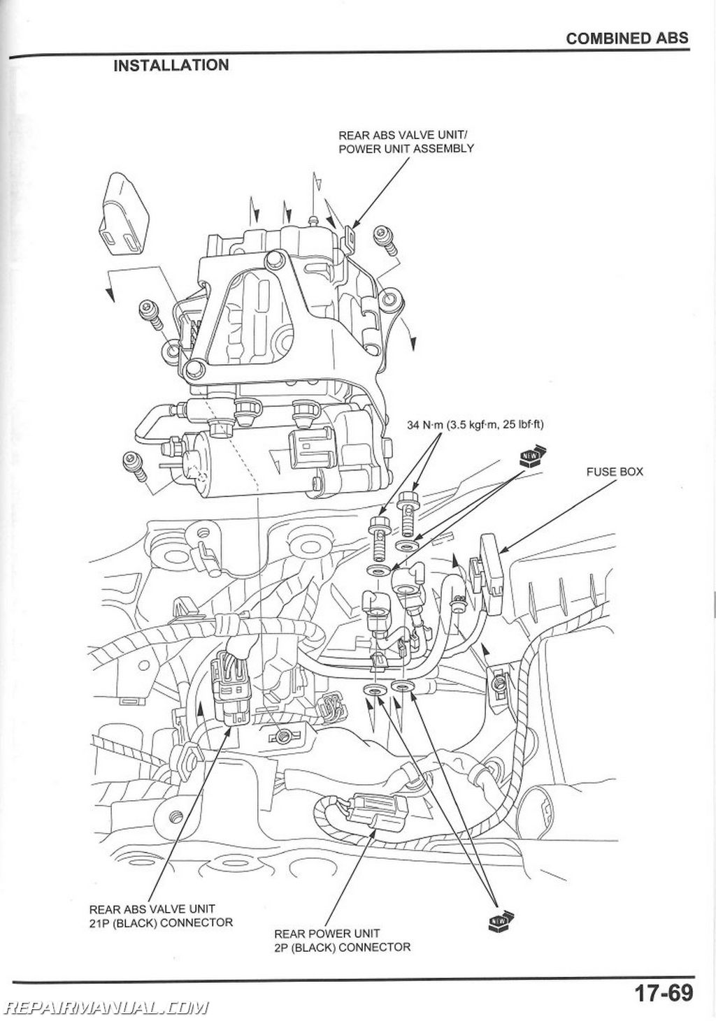 2008 2014 Honda CBR1000RR Service Manual page 1 2008 cbr1000rr wiring diagram honda cbr1000rr engine \u2022 free wiring 2007 honda cbr600rr fuse box at readyjetset.co