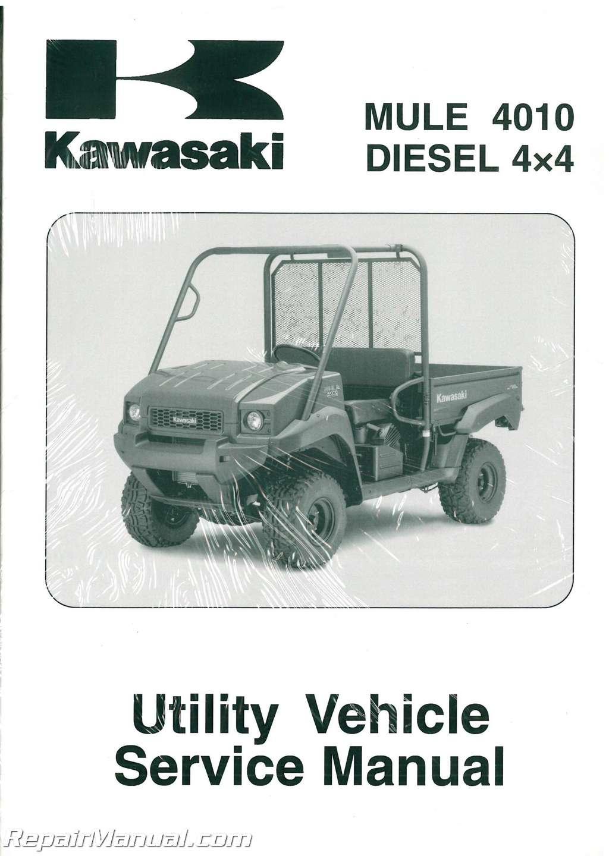 Kawasaki Kaf950f Mulesel 4 4 Service Manual