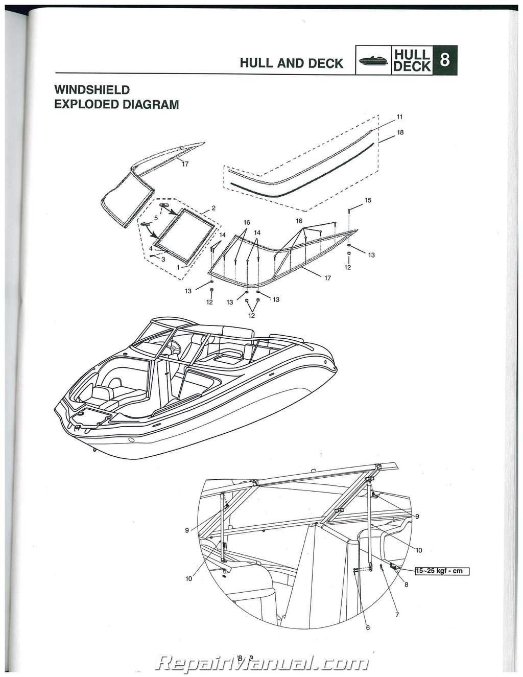 Foot Schematic Yamaha 225 Vmax