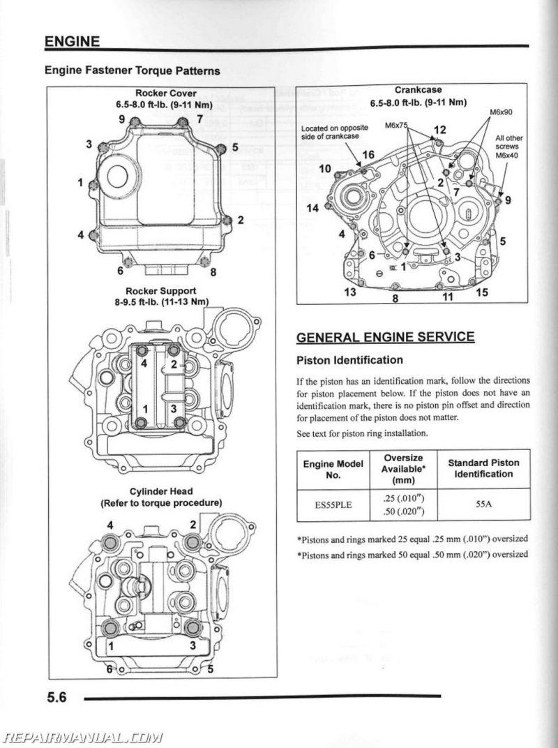 Polaris Scrambler 50 Torque Specs 2003 Wiring Diagram 2010 Sportsman Xp 550 Atv Service Manual
