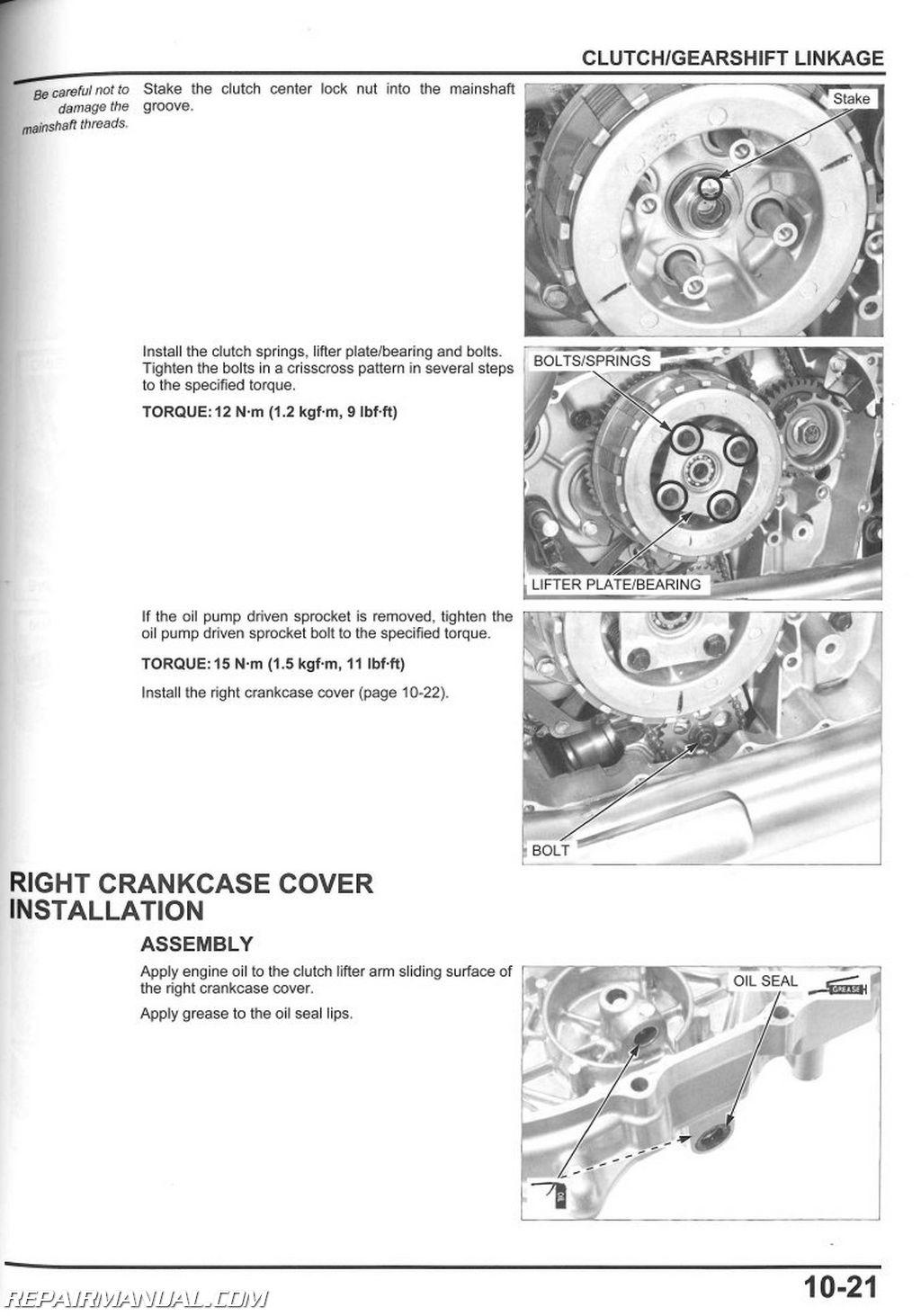 Vt750c S Shadow Aero Abs Service Manual