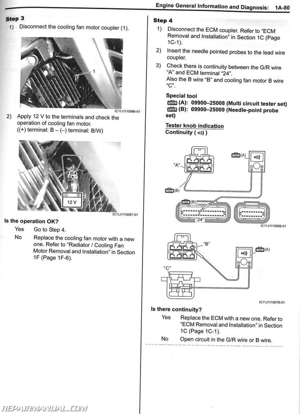 Suzuki Dl650a Motorcycle Service Manual
