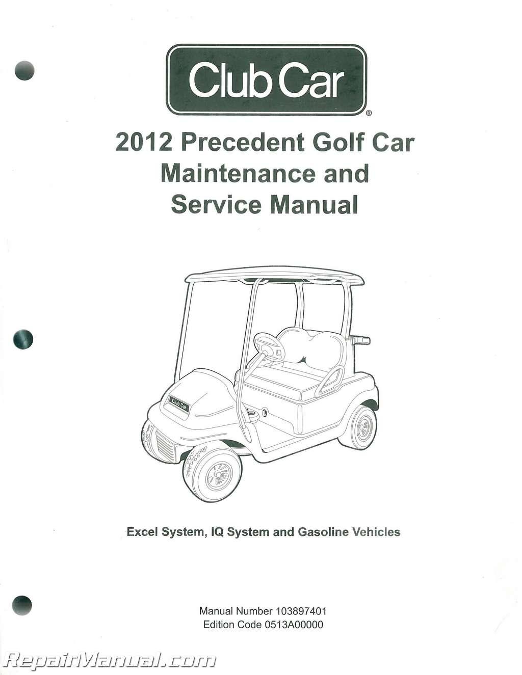 G2 Golf Cart