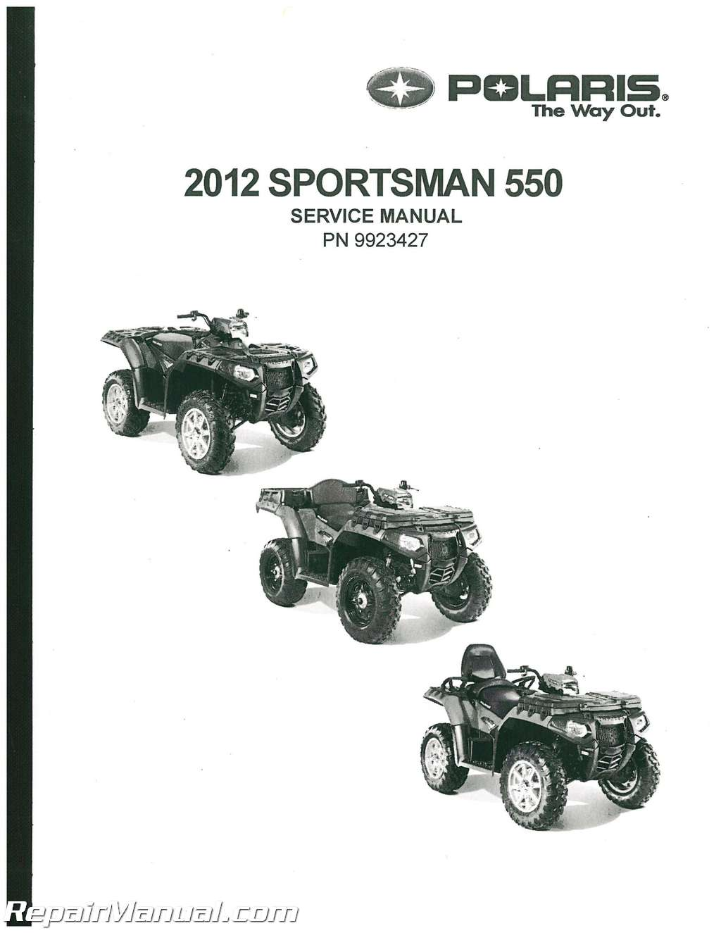 Polaris Sportsman 550 Eps 550 Touring Eps 550 X2 550