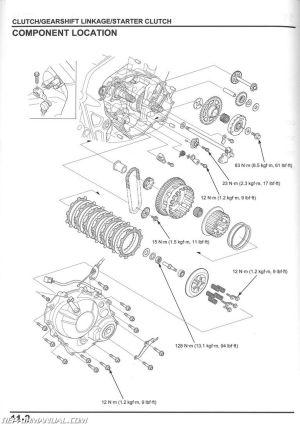 2014 2015 2016 Honda CBR650 F FA Motorcycle Service Manual