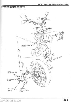 20142015 Honda GL1800 C A Valkyrie Motorcycle Service Manual