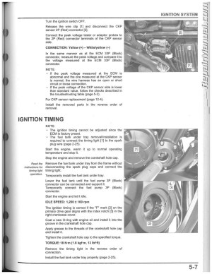 20132015 Honda CBR500 CB500 Motorcycle Service Manual