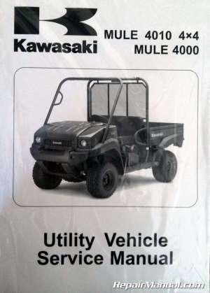 20092013 Kawasaki KAF620M N P Mule 4010 4×4 4000 Service Manual