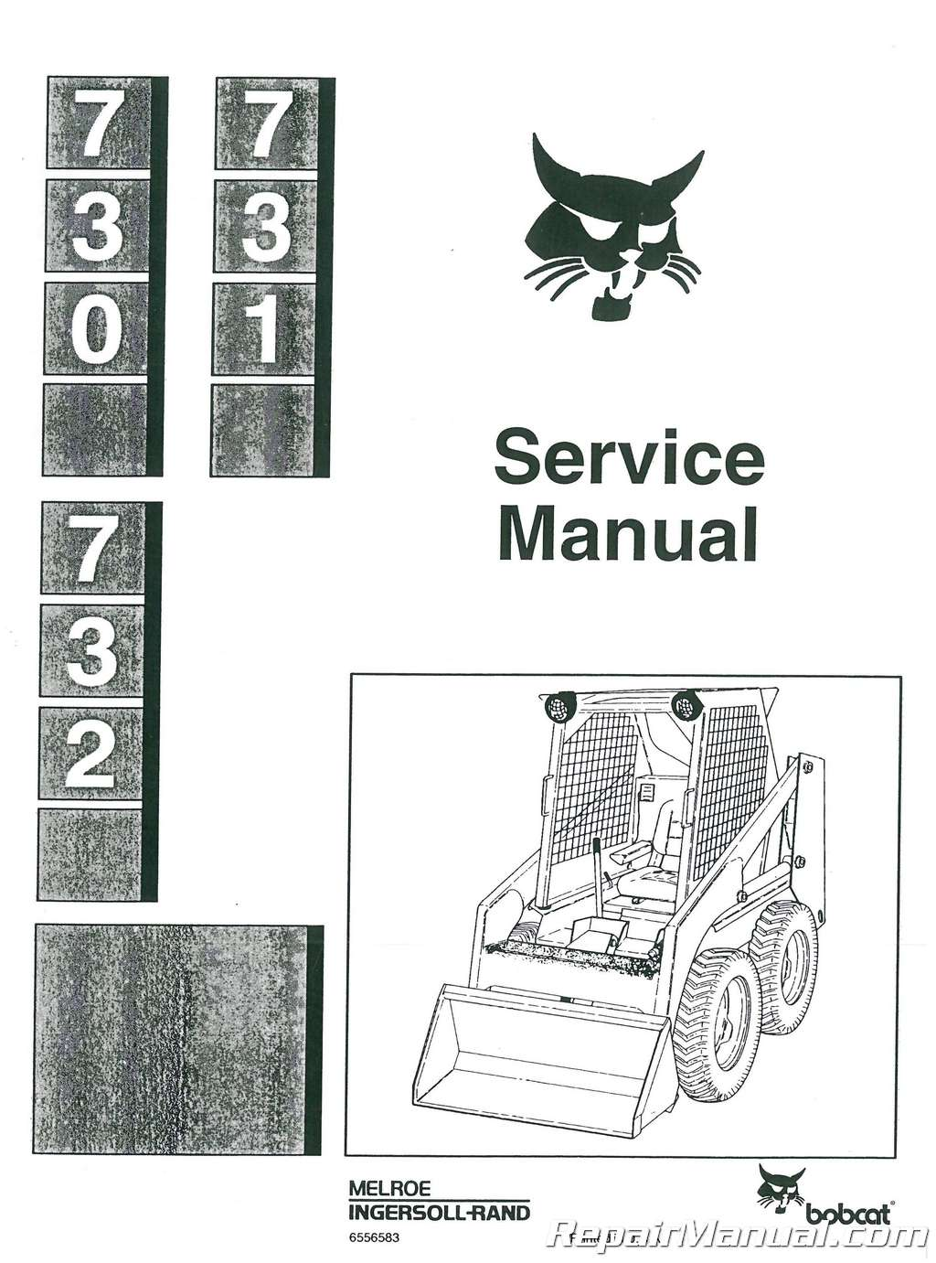 Bobcat 730 731 732 Loader Service Manual