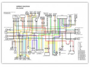 Suzuki DRZ400 Color Wiring Diagrams