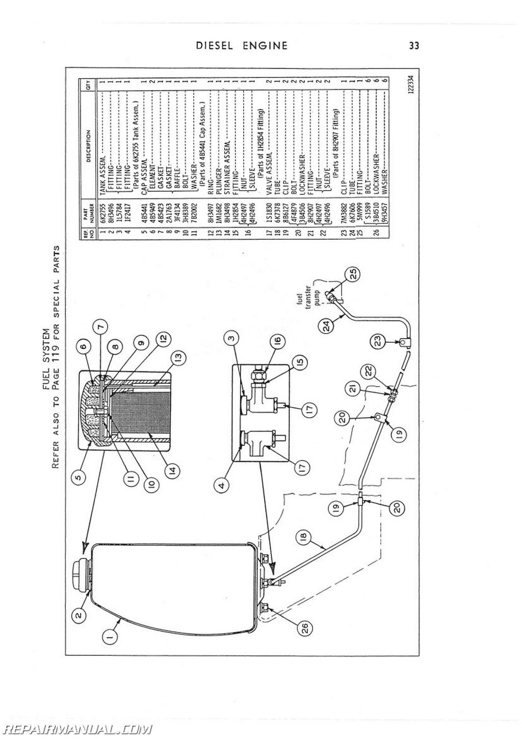 Caterpillar Filter Schematics