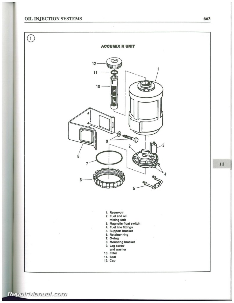 Evinrude Johnson Outboard Repair Manual Best Setting Instruction