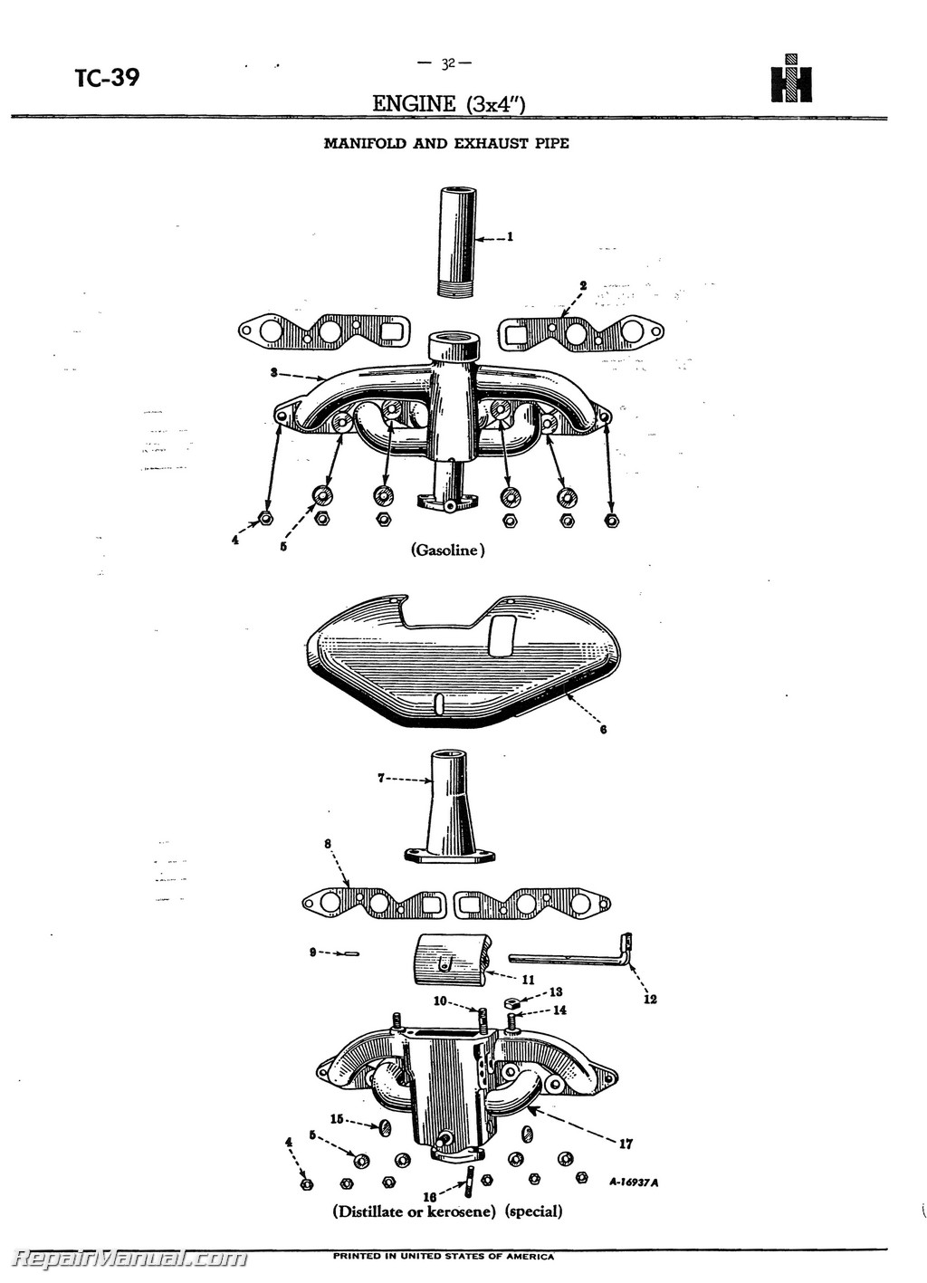 Farmall M Wheel Bearing Diagram