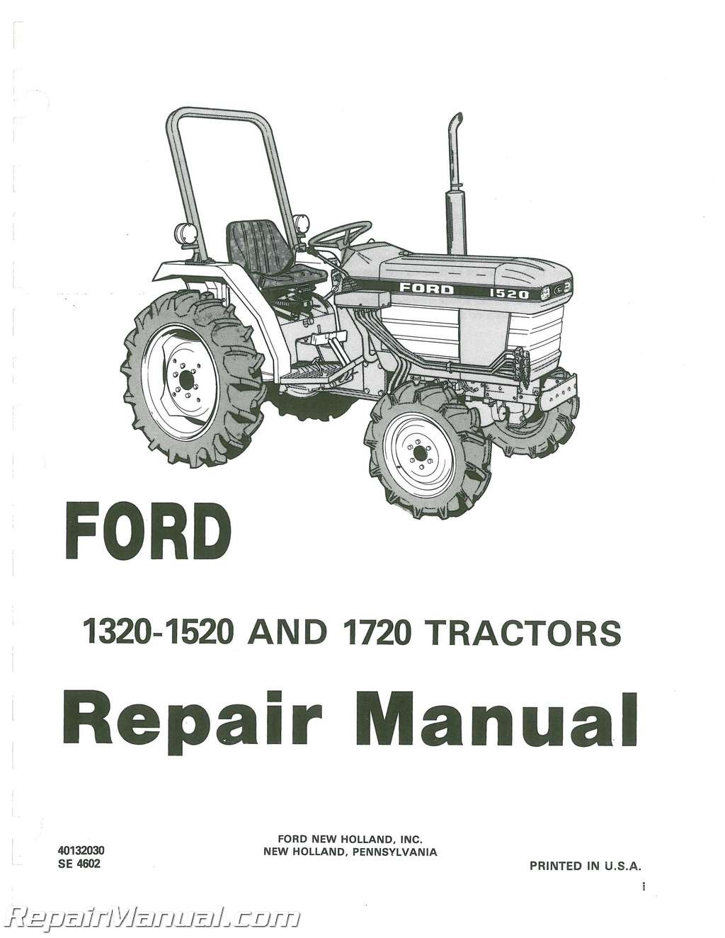 Ford And Tractor Repair Manual