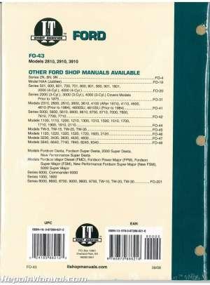 2810 Ford Tractor Alternator Wiring Diagram | Wiring Diagram