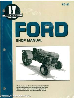Ford New Holland 3230, 3430, 3930, 4630 and 4830 Tractor