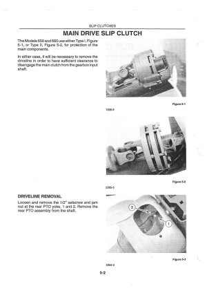 Ford New Holland 630 640 650 660 Large Round Baler Service Manual