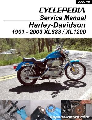 HarleyDavidson XL883 XL1200 Sportster Printed Cyclepedia
