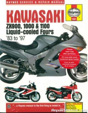 20082017 Kawasaki KLR650 Motorcycle Cyclepedia Printed Service Manual