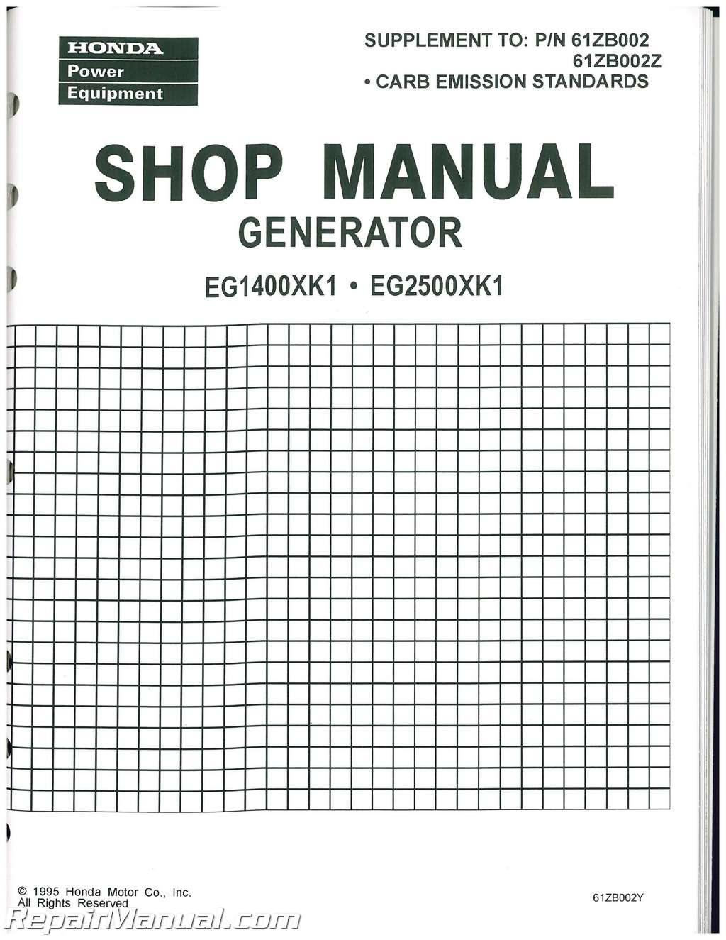 Honda Gx200 Manual