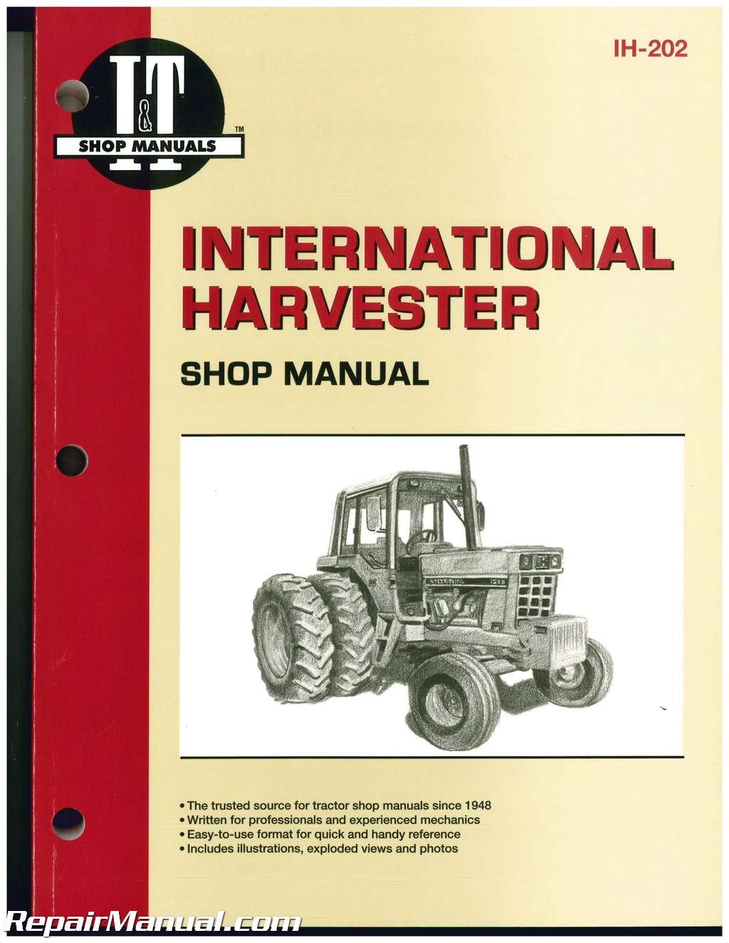 International Cub Tractor Wiring Diagram