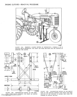 International Harvester Farmall Tractor Engine Clutch
