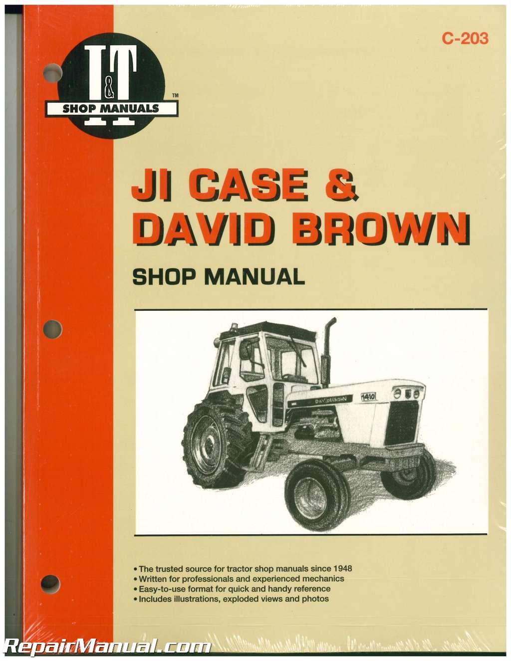 David Brown 990 Tractor Manual