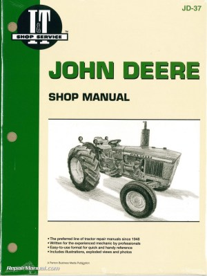 John Deere 1020 1520 1530 2020 2030 Tractor Workshop Manual