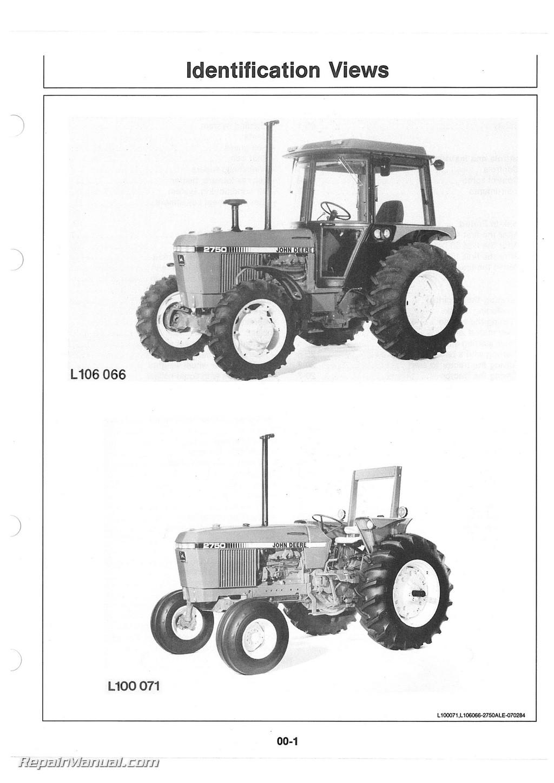 John Deere Tractor Operators Manual