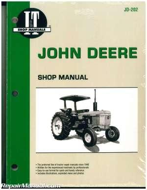 John Deere Tractor Manual 2040 2130 2510 2520 2240 2440 2630 2640 4040 4240 4 | eBay