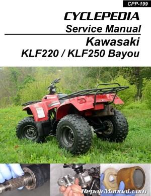 Kawasaki Bayou 220 250 KLF220 KLF250 Printed Cyclepedia