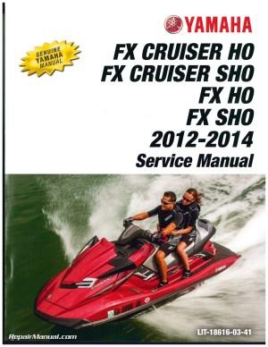 20122014 Yamaha FX Cruiser HOSHO FX HOSHO Personal