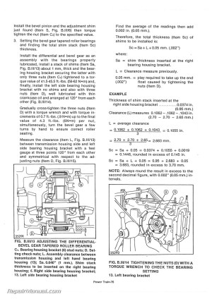 Long 260 310 2 Cylinder Tractor Service Manual | eBay