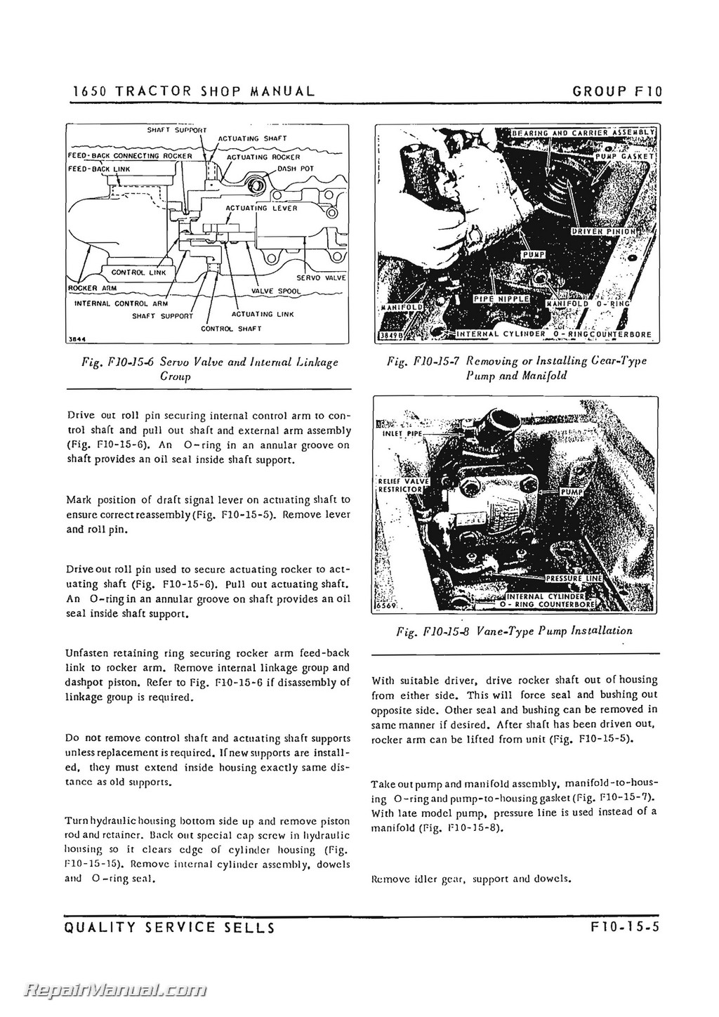 Oliver 2 78 4 78 Tractor Service Manual
