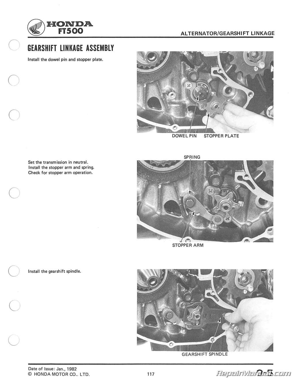 Wiring Diagram For A Honda Ft 500 Get Free Image