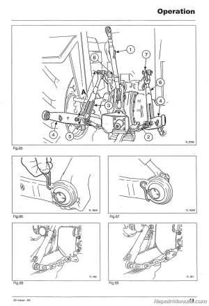 Massey Ferguson 231 Tractor Operator Instruction Book