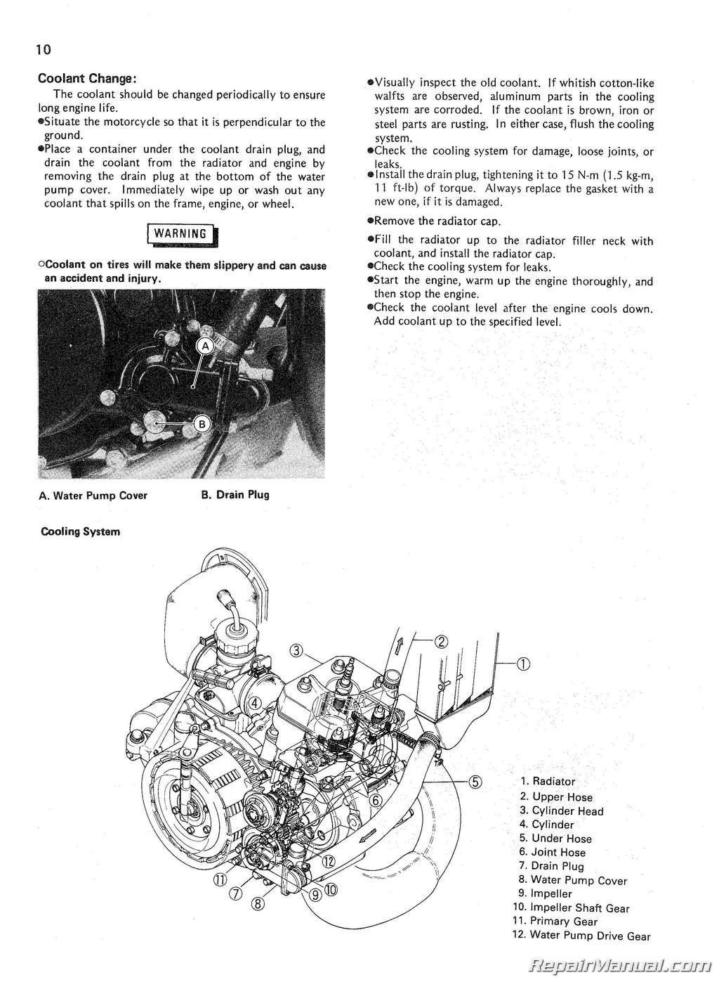 Motorcycle Engine Maintenance