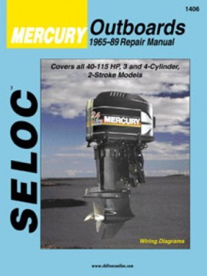 Seloc Mercury Outboards 34 Cyl 19651989 Boat Engine