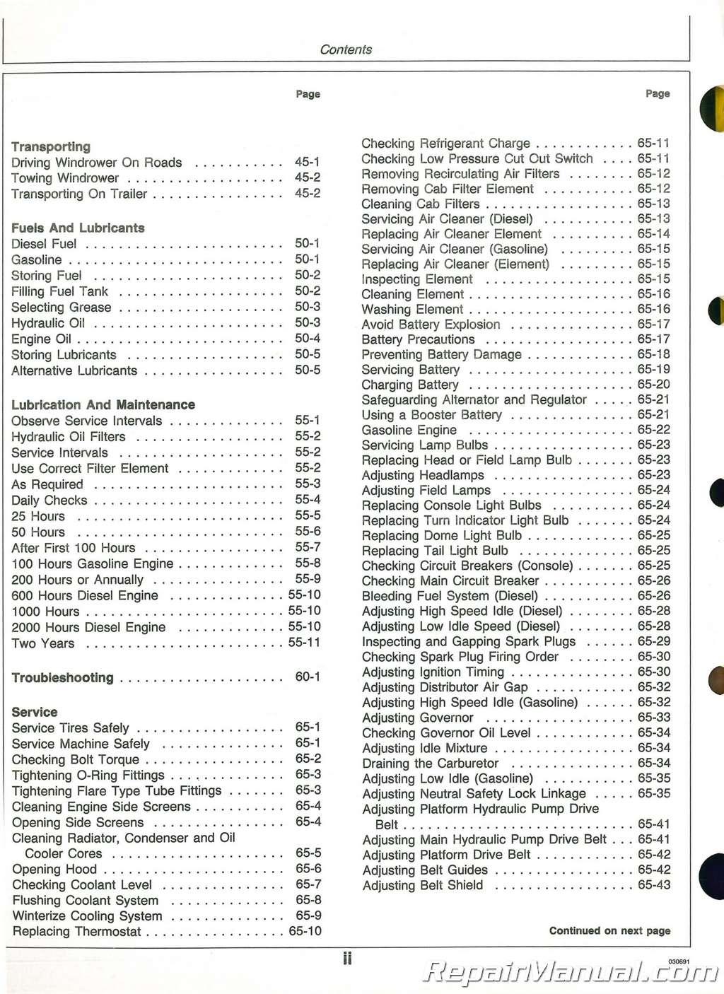 John Deere Z335e Reviews   Wiring Diagram Database