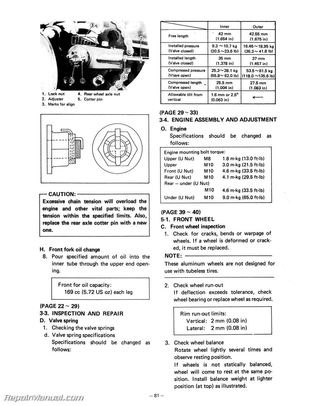 Motorcycle Engine Maintenance