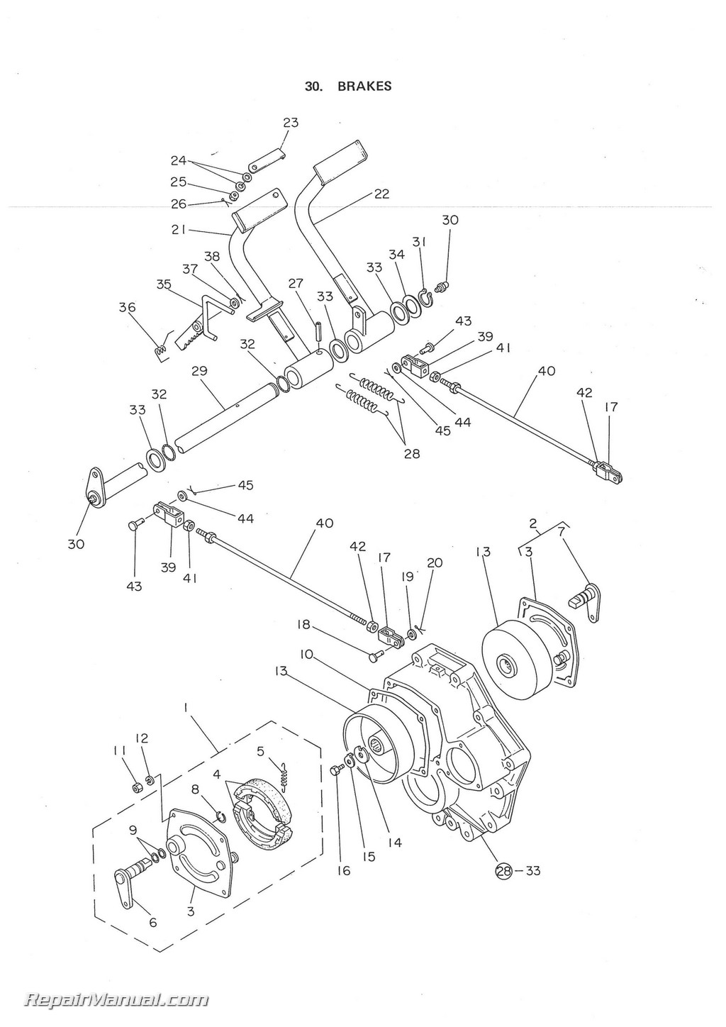 Yanmar Ym135 Ym135dsel Tractor Parts Manual