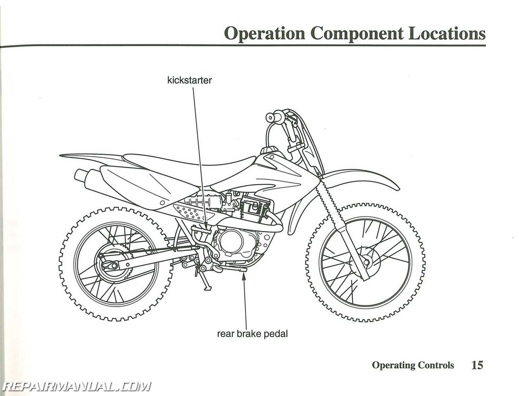 Honda Crf80f Motorcycle Owners Manual