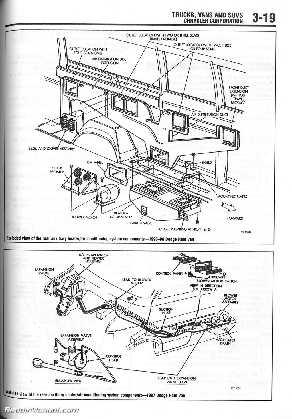 Chilton Heater Core Installation Manual Ch