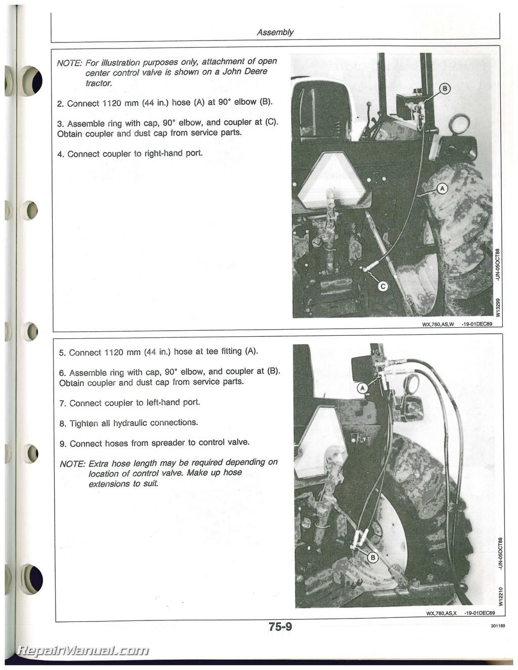 John Deere Spreader Repair Parts