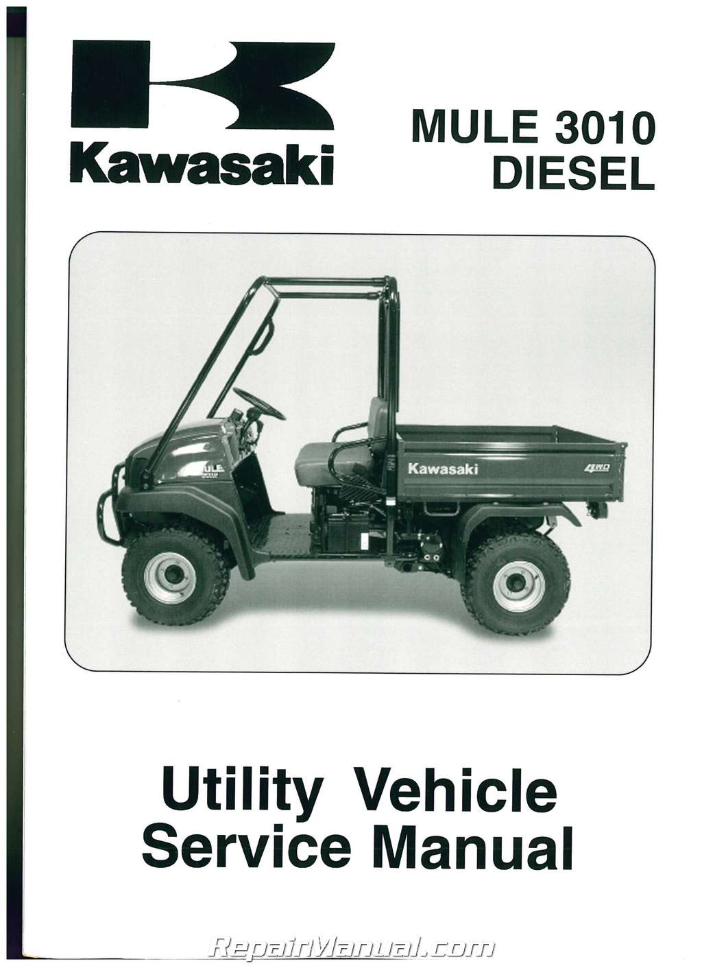 Kawasaki Kaf950 Mulesel Side By Side