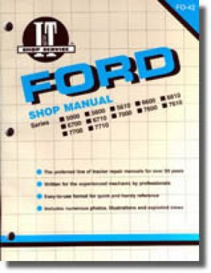 Ford New Holland 5000 5600 5610 6600 6610 6700 6710 7000