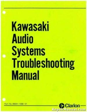 19781979 Kawasaki KL250 Motorcycle Service Manual